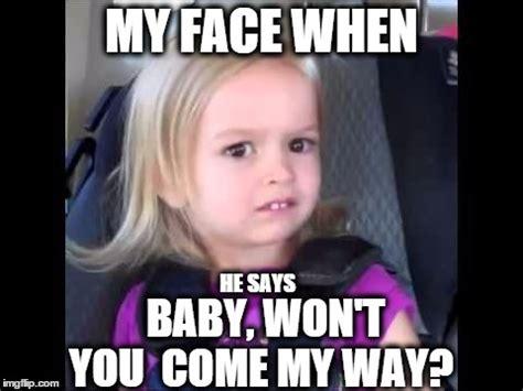 Little Girl Face Meme - unimpressed little girl imgflip