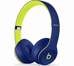 Buy BEATS Solo 3 Wireless Bluetooth Headphones - Indigo ...  Beats