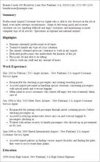 airport customer service representative resume sle customer relation officer resume