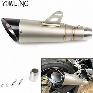 Universal 51mm Modified Motorcycle Exhaust Muffler Dirt