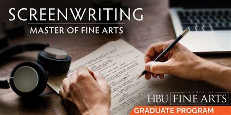 master  fine arts screenwriting mfa school  fine arts