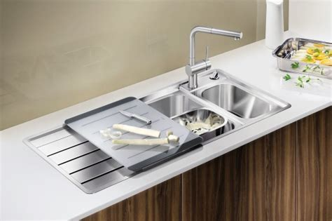 Inset Kitchen Sinks: Drop In or Inset sinks from BLANCO UK