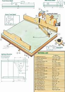 #778 Precision Crosscut Sled Plans - Table Saw Tips, Jigs