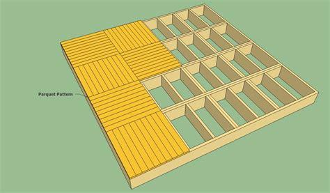 deck plans howtospecialist   build step  step