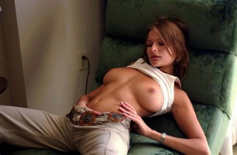 Gema Zamprogna Nude Young Brunette With Big Natural Tits Undressing