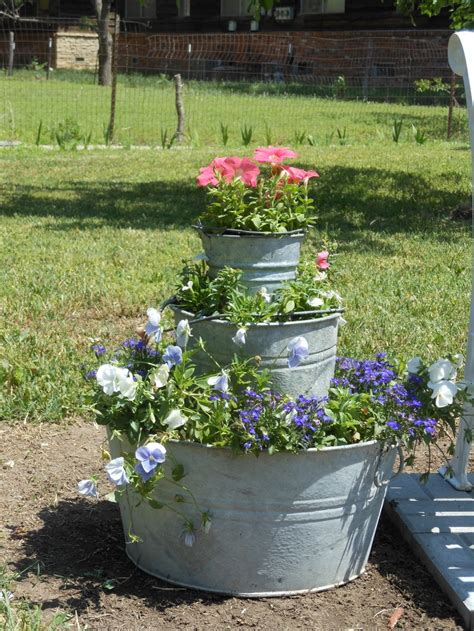17 Best Images About Metal Galvanized Containers On