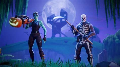 fortnites battle royale mode receiving halloween themed
