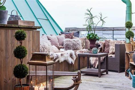 zithoek balkon gezellige zithoek op balkon leuke tuin idee 235 n