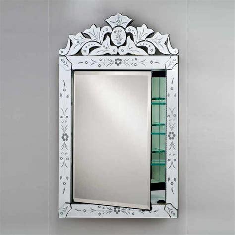 afina 27 quot x 21 quot radiance recessed mirrored medicine