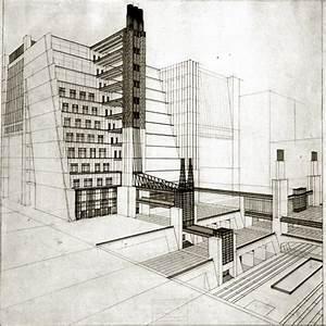Futurist Architecture: Drawings of Antonio Sant'Elia   Mistlab