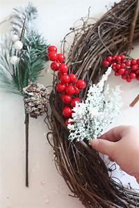 Easy, Diy, Christmas, Wreath