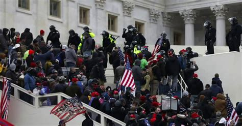 Police suffer from debilitating injuries after Capitol ...