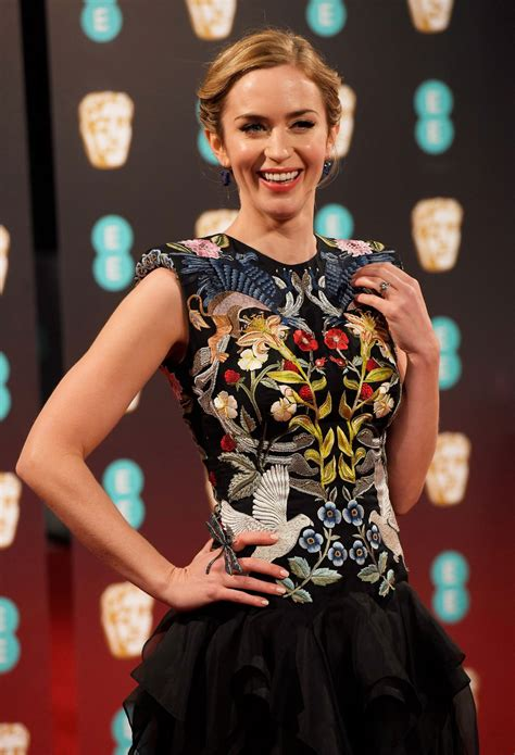 Welcome to emily blunt network, an online fan resource dedicated to the talented, charismatic and beautiful british actress. Emily Blunt at BAFTA Awards in London, UK 2/12/ 2017
