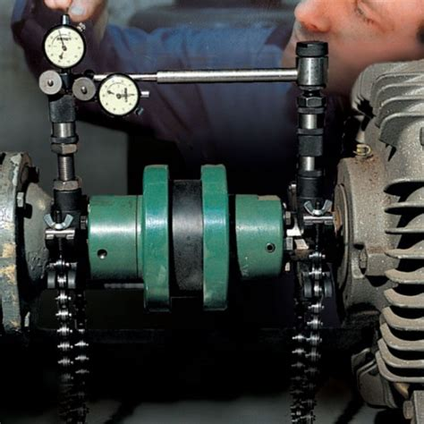 accushim ha  reverse dial indicator shaft alignment hardware system mitchell instrument company
