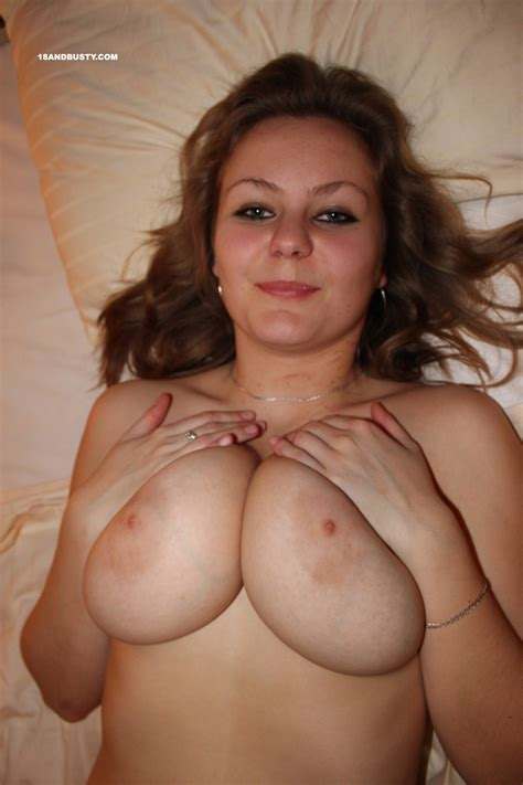 Busty Teen Natural Bounce