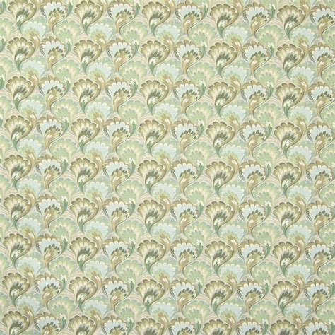 Mint Green Upholstery Fabric by Mint Green Contemporary Print Drapery And Upholstery Fabric