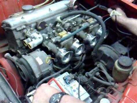 bmw m10 motor bmw m10 motor mit dellorto doppelvergasern teil 1