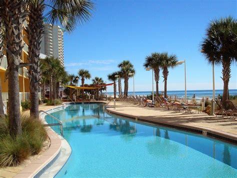 calypso resort  beach front condo rental  pier