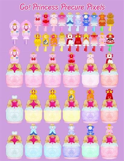 Precure Princess Key Deviantart Pixels Final