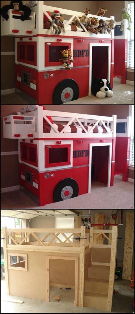 Kinderzimmer Junge Selber Bauen by Feuerwehr Bett Selber Bauen Diy M 246 Bel F 252 R Das