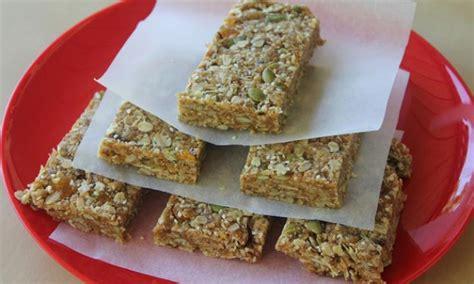 muesli bars bar recipes homemade kidspot recipe kitchen puff rice