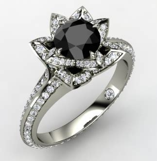 black wedding rings meaning striking black engagement rings black ring