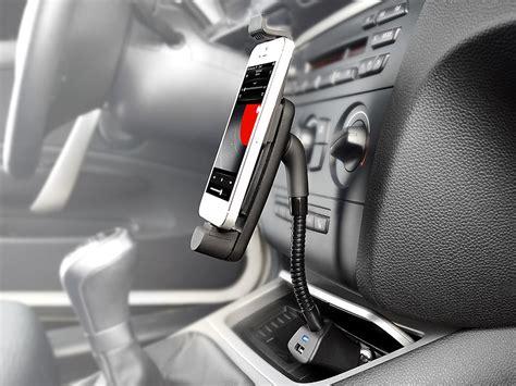 iphone 6 halterung auto callstel handyhalterung iphone kfz schwanenhals halterung mit lightning stecker f 252 r apple