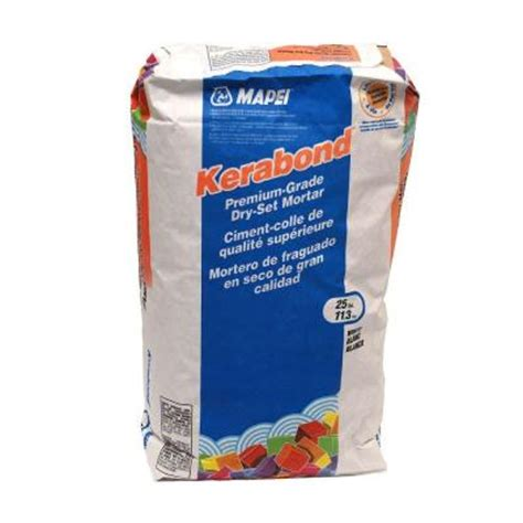 mapei porcelain tile mortar mapei kerabond 25 lb dry set mortar 0010025 the home depot