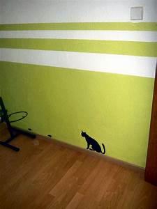 Wand Mit Streifen : nochmal ein flur ~ Frokenaadalensverden.com Haus und Dekorationen