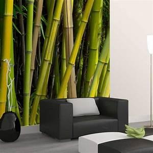Papier Peint Deco : papier peint bambou papier peint original d coration ~ Voncanada.com Idées de Décoration
