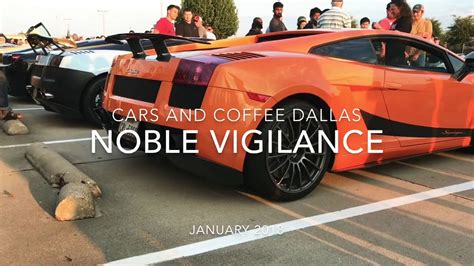 According to a statement on the cars and coffee facebook page, as the show grew over time, the event staff were disappointed to see. Cars and Coffee Dallas || January 2018 - YouTube