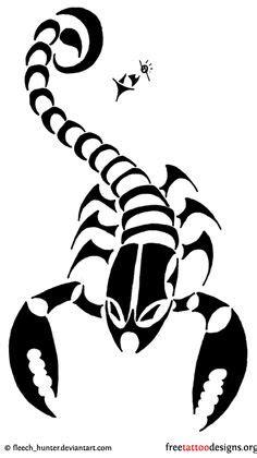 Tattoo's For > Tribal Scorpio Zodiac Tattoos For Men | Scorpio | Tattoos, Scorpio zodiac tattoos