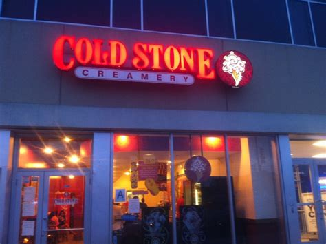 coldstone hours what time does coldstone open