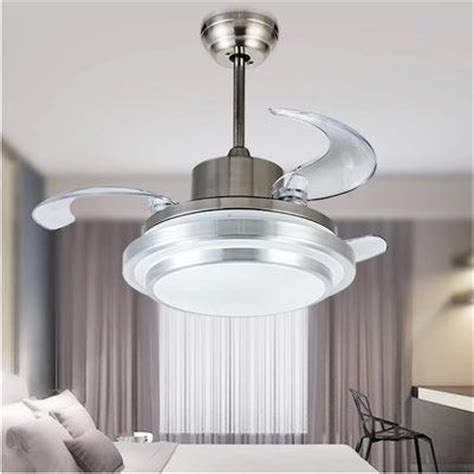 ceiling fans with hidden blades ultra quiet 42 quot hidden blade ceiling fan ls 110 240v