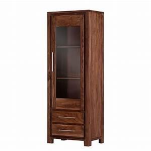 Waschmaschinenschrank Mit Tür : vitrine jambi 1 sheesham massiv gebeizt matt lackiert vitrine jambi 1 rechts sheesham ~ Sanjose-hotels-ca.com Haus und Dekorationen