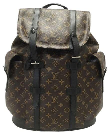 louis vuitton christopher pm monogram macassar backpack backpack backpacks  sale