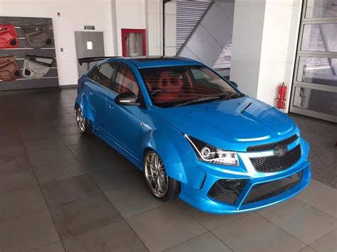This Customized Chevrolet Cruze Is Every Big Boy's Dream