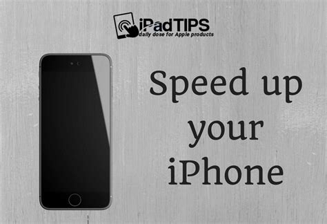 how to speed up my iphone how to speed up your iphone tips