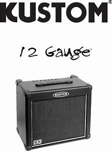 Kustom Stereo Amplifier 12 Gauge User Guide