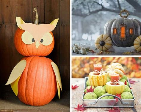 ways to decorate pumpkins diy ways to decorate your home with pumpkins this fall