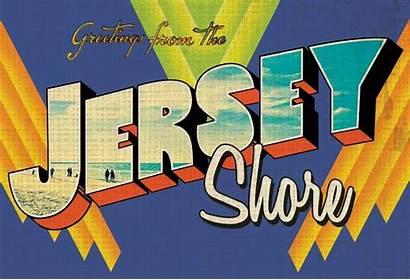 Jersey Postcards Shore Postcard Brookdalecc Edu Posters