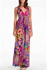 robe mariã e hippie chic robe longue d 39 été imprimée bohème hippie chic rené derhy