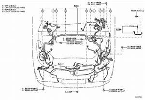 Toyota Highlander Wire  Front Seat  Left  Front Seat  Left