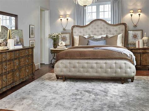 A.r.t. Furniture Continental Weathered Nutmeg Bedroom Set