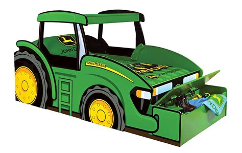 John Deere Tractor Twin Bed With Storage