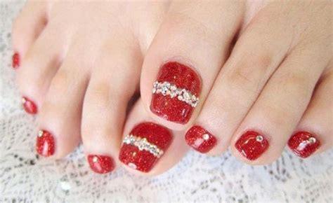 merry christmas toe nail art designs