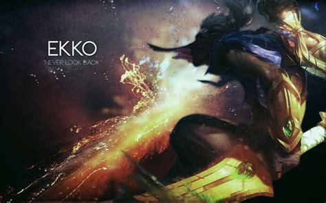 wallpaper league  legends ekko  boy  shattered