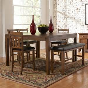 dining room set with bench awesome dining room sets with bench wooden style floor white brick wall