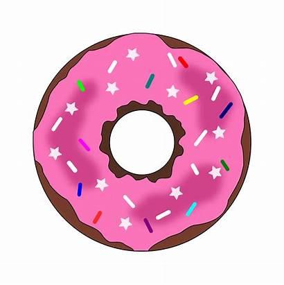 Donut Donuts Clipart Transparent Sprinkles Clip Donat