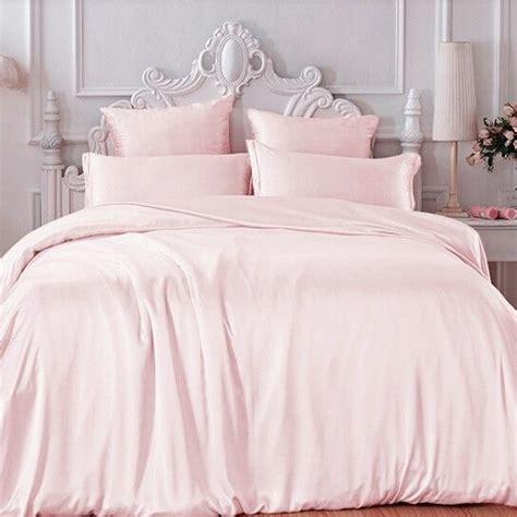 Light Pink Silk Duvet Cover  Pinterest  Duvet, Girly And